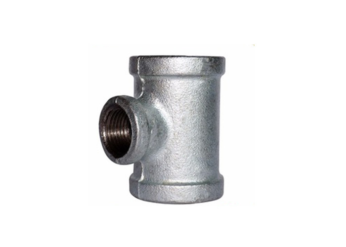 Customizable Malleable Iron Pipe Fittings Cast Iron Sanitary Tee Hot Dipped